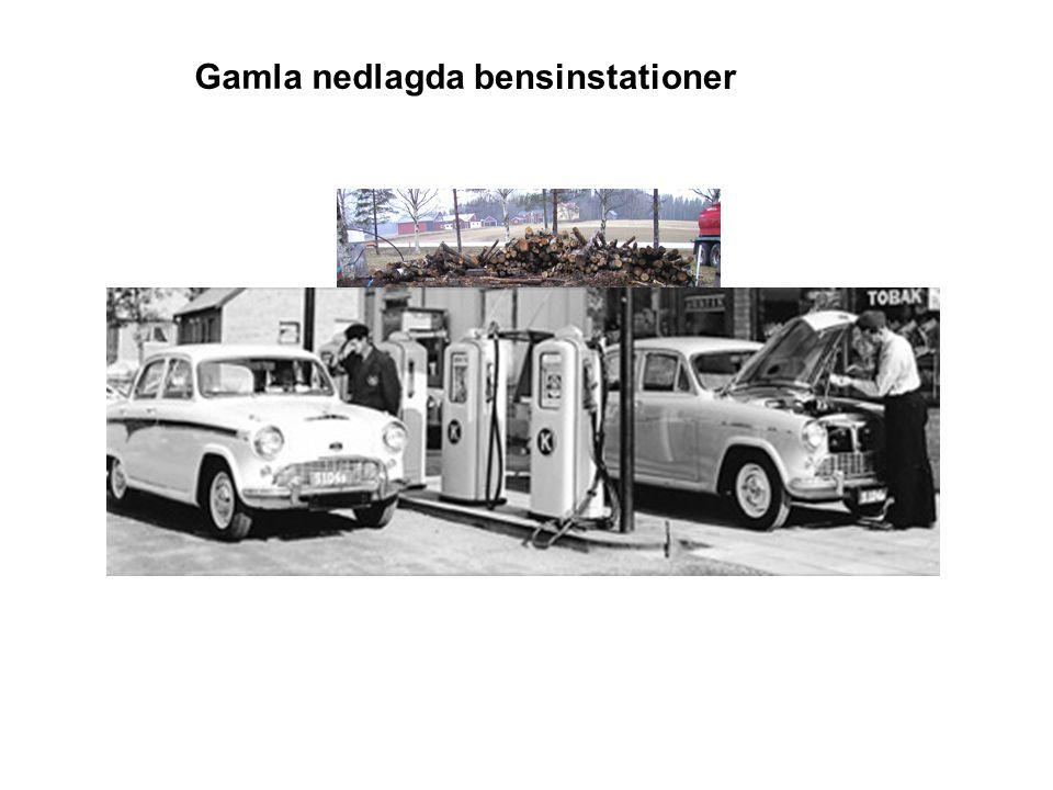 Gamla bensinstationer