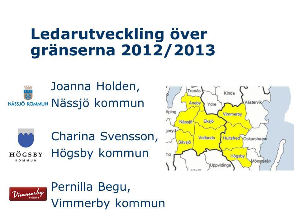 Ledarutveckling över gränserna 2012/2013