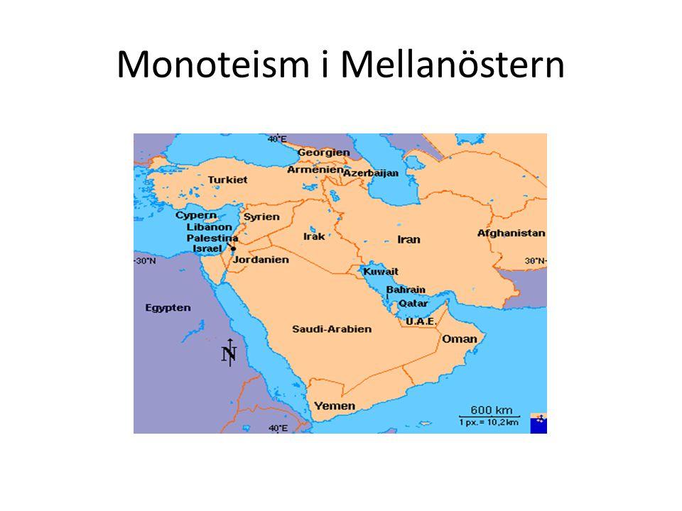 Monoteism i Mellanöstern