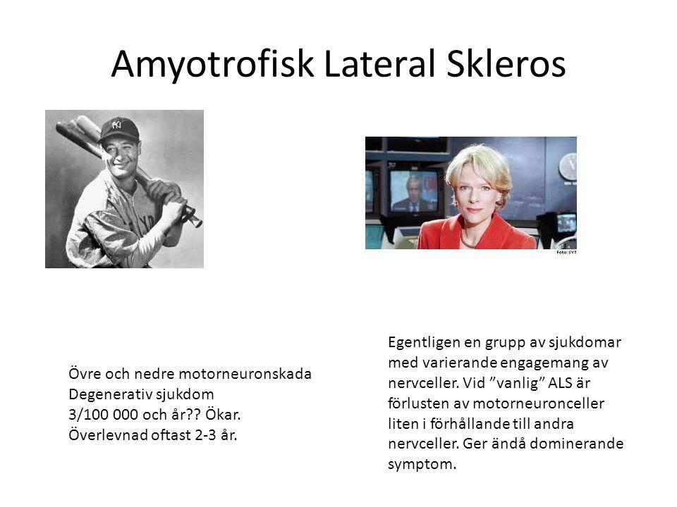 Amyotrofisk Lateral Skleros