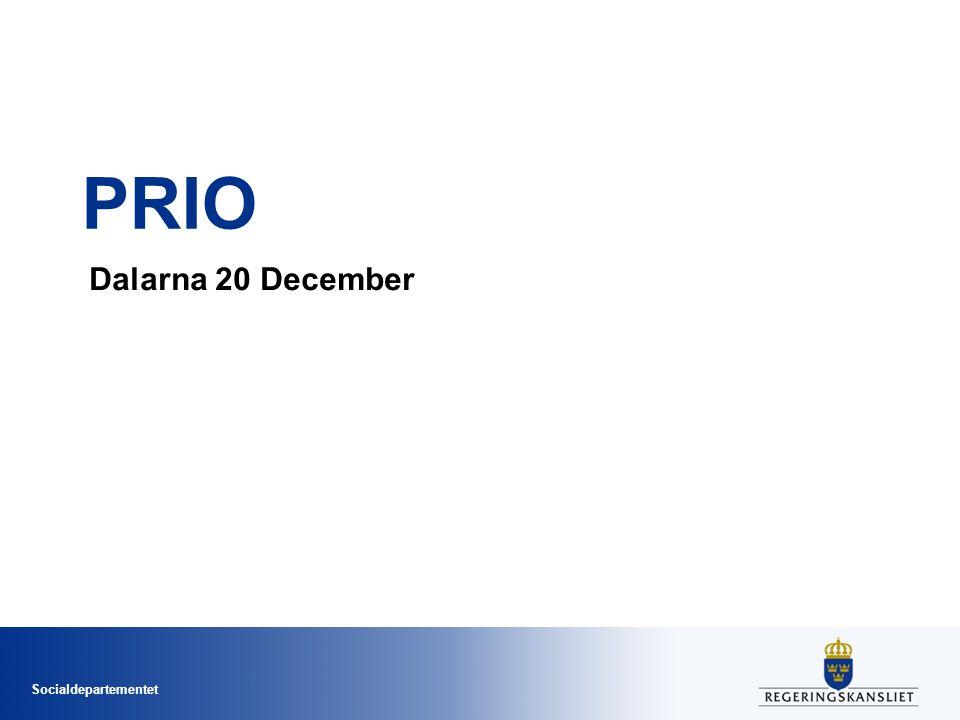 PRIO Dalarna 20 December