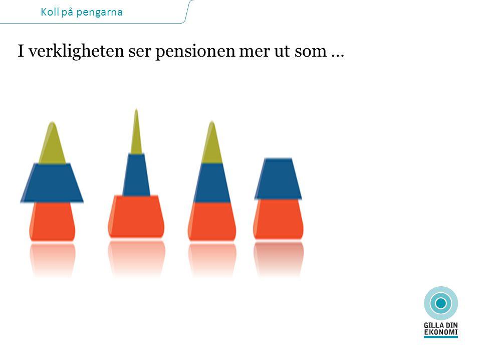 I verkligheten ser pensionen mer ut som …