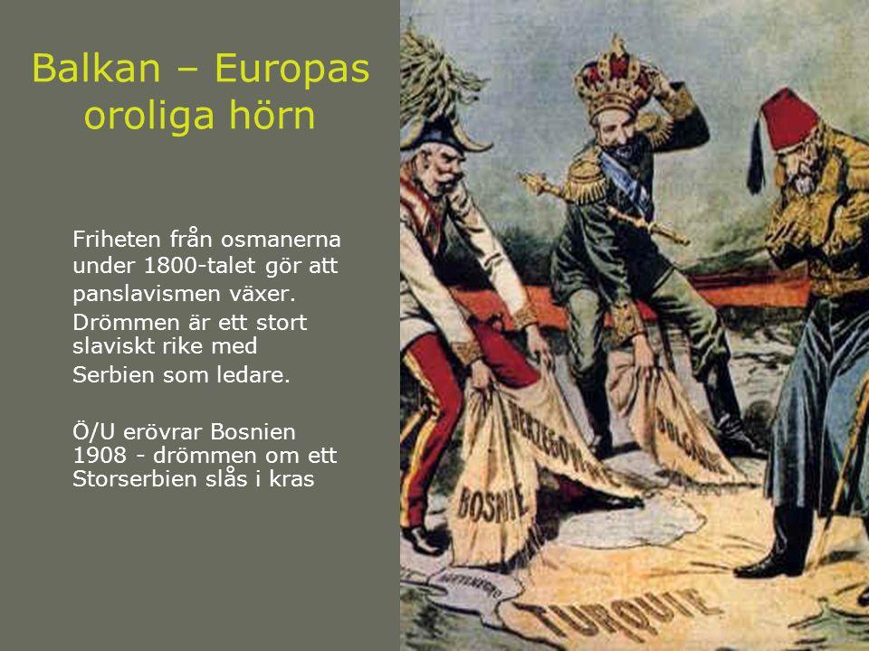 Balkan – Europas oroliga hörn