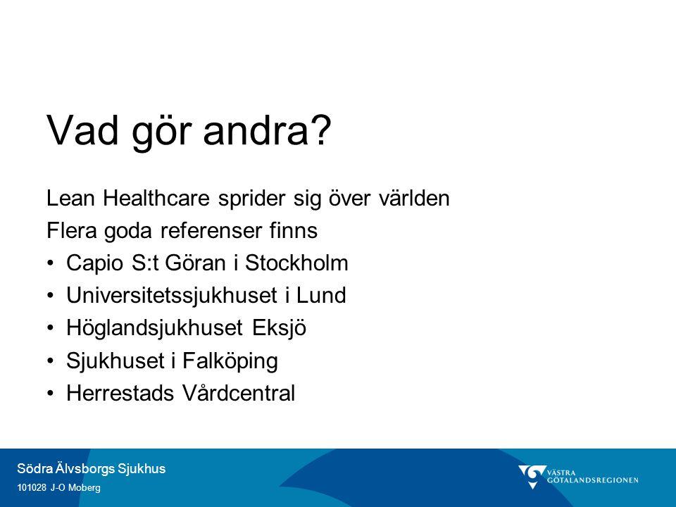 Vad gör andra Lean Healthcare sprider sig över världen
