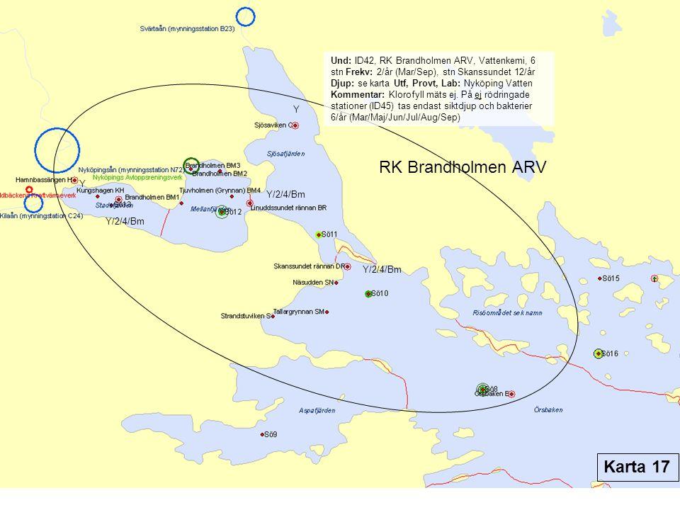 RK Brandholmen ARV Karta 17