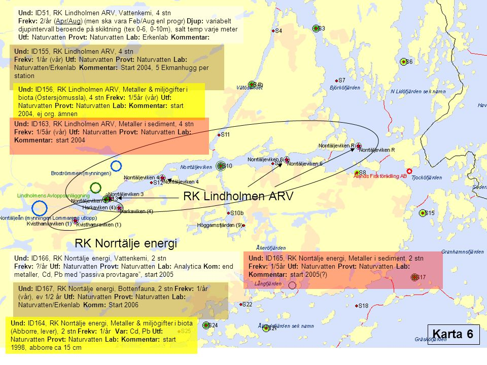 RK Lindholmen ARV RK Norrtälje energi Karta 6