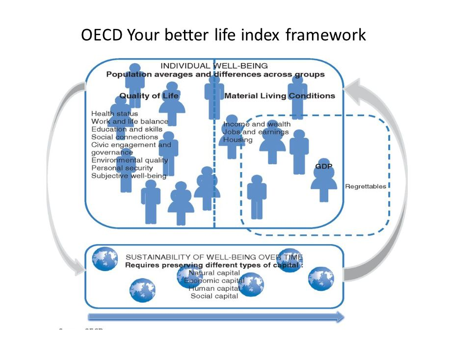 OECD Your better life index framework
