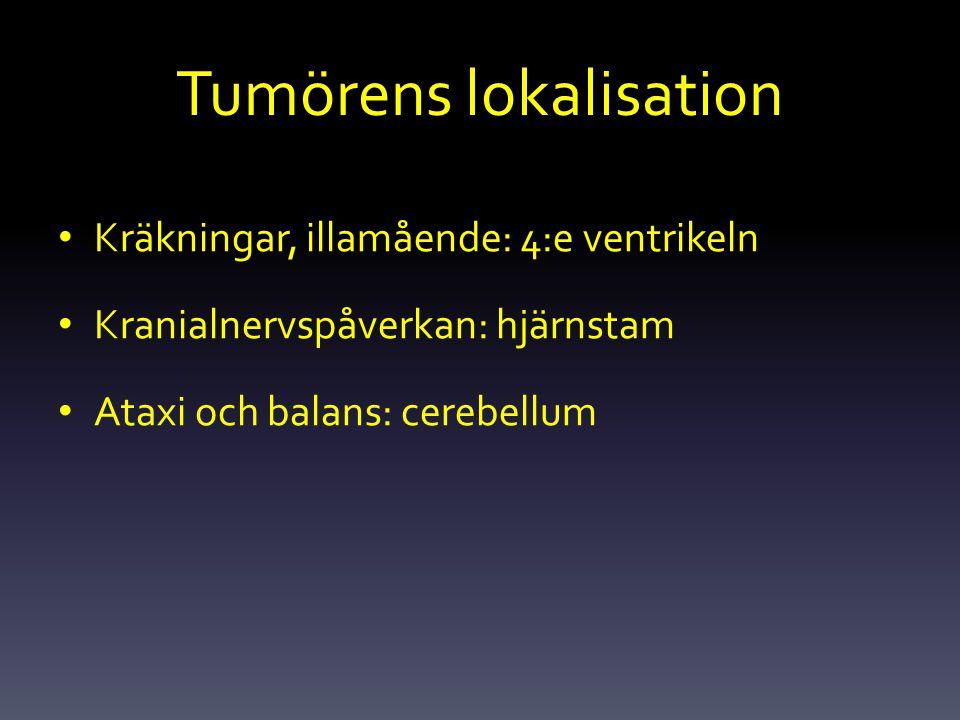 Tumörens lokalisation