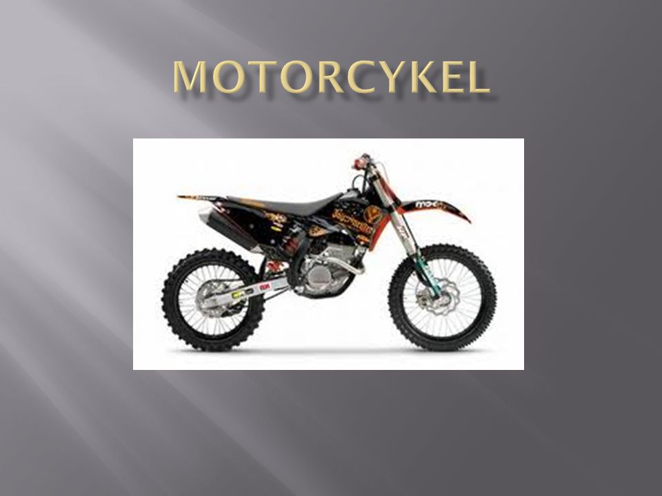 Motorcykel g