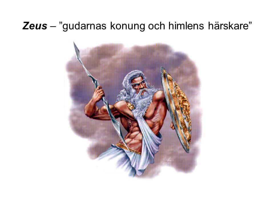 Zeus – gudarnas konung och himlens härskare