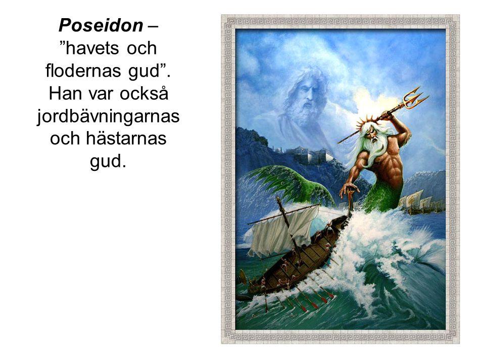 Poseidon – havets och flodernas gud