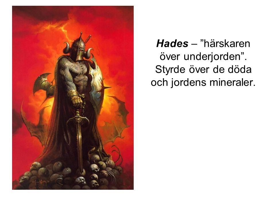 Hades – härskaren över underjorden