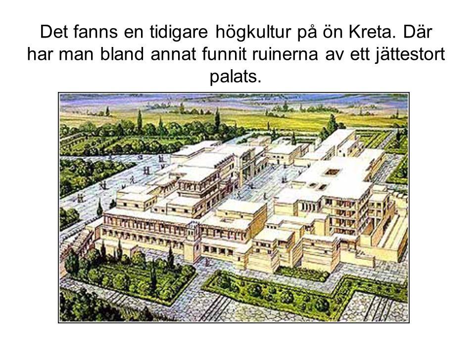 Det fanns en tidigare högkultur på ön Kreta