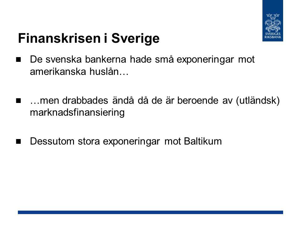 Finanskrisen i Sverige