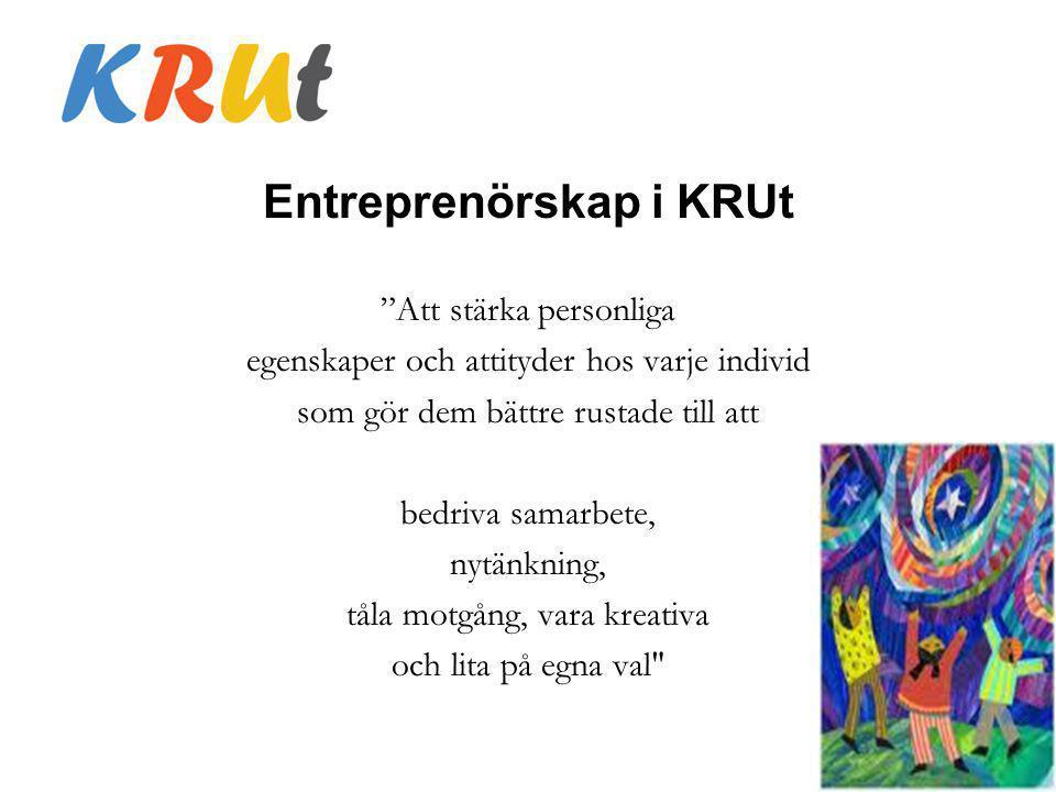 Entreprenörskap i KRUt