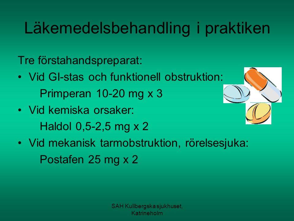 Läkemedelsbehandling i praktiken