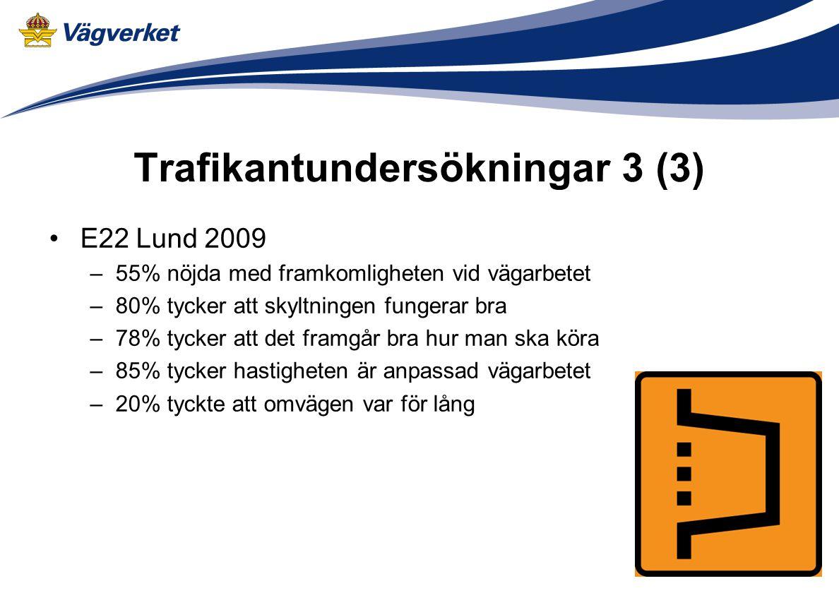 Trafikantundersökningar 3 (3)