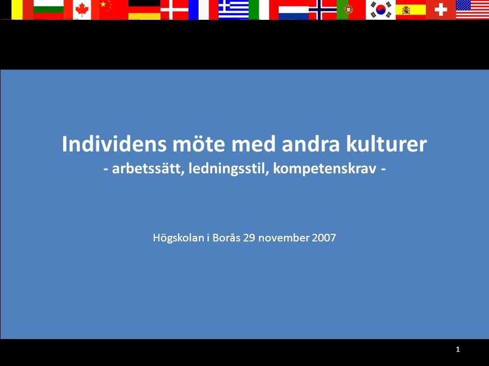 Högskolan i Borås 29 november 2007