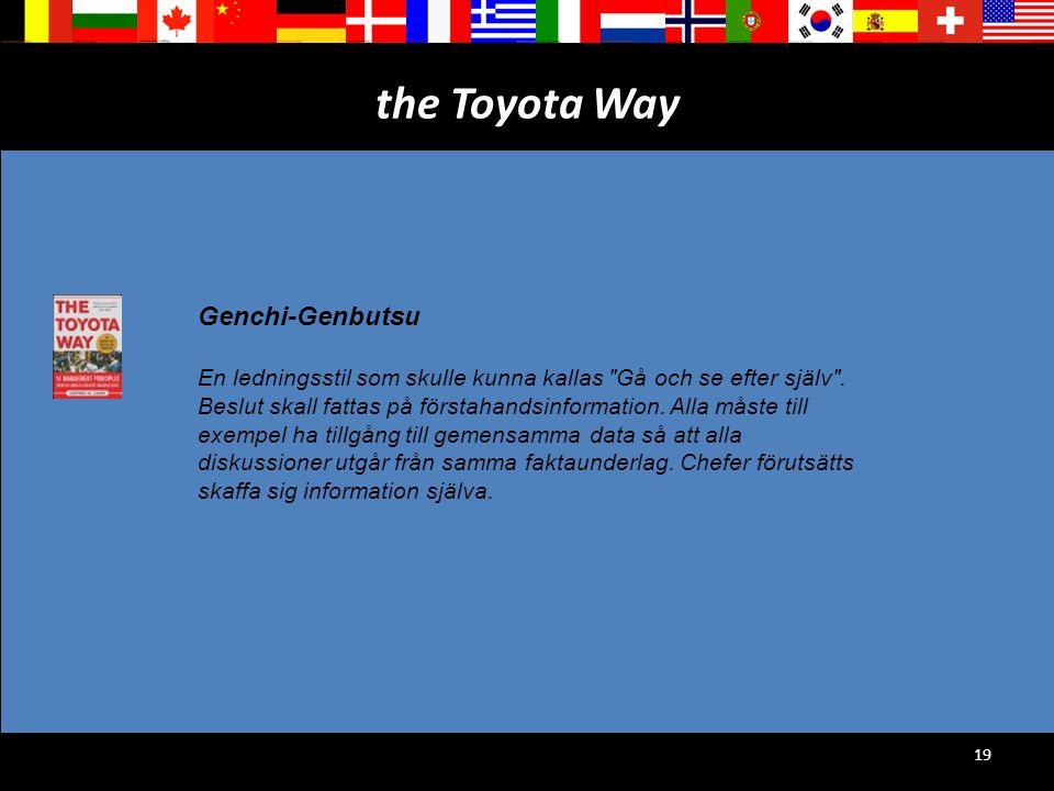 the Toyota Way Genchi-Genbutsu