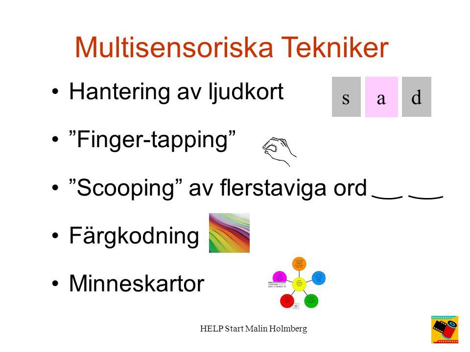 Multisensoriska Tekniker