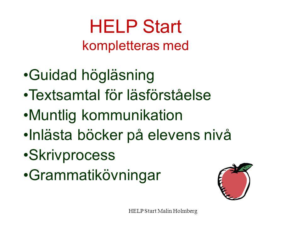 HELP Start kompletteras med