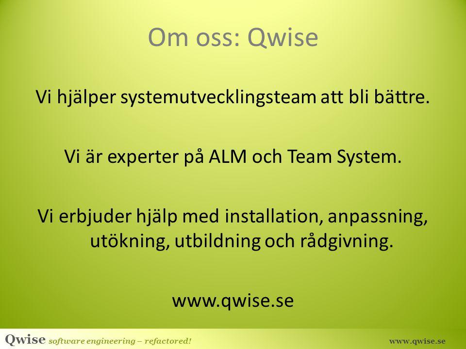 Om oss: Qwise