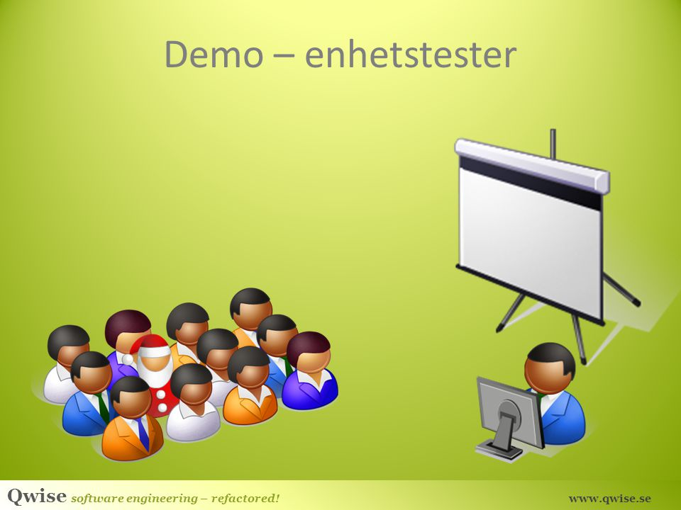Demo – enhetstester