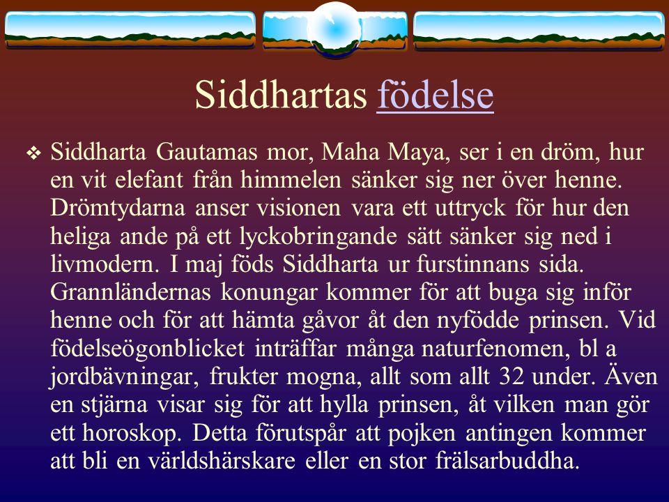 Siddhartas födelse