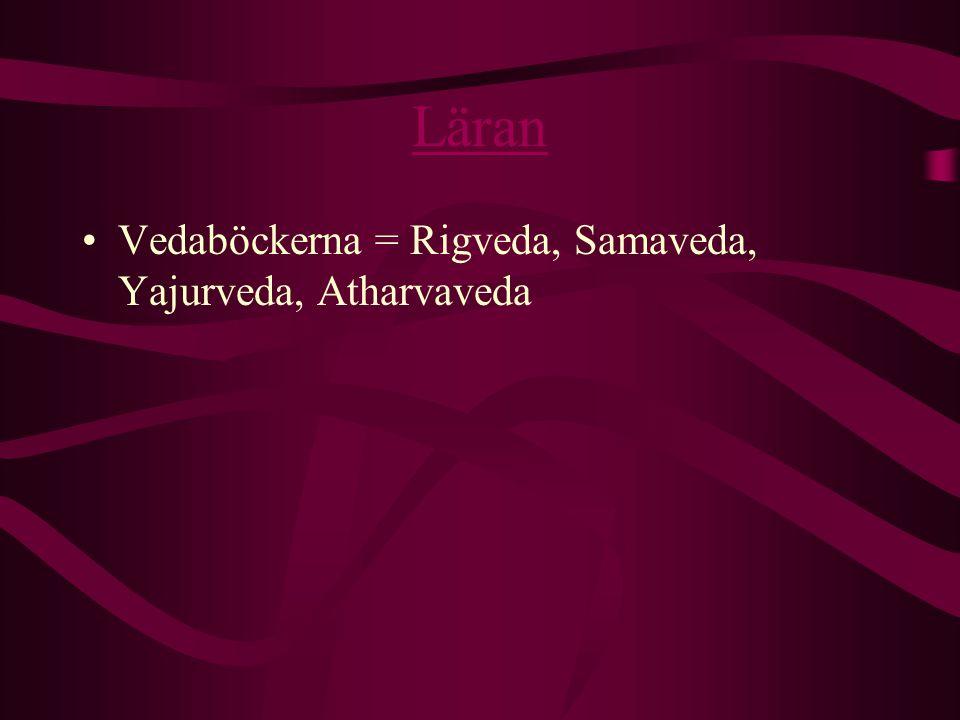Läran Vedaböckerna = Rigveda, Samaveda, Yajurveda, Atharvaveda
