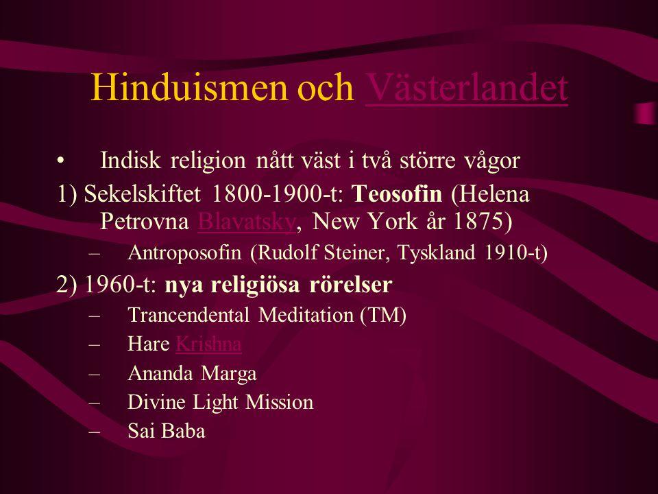 Hinduismen och Västerlandet