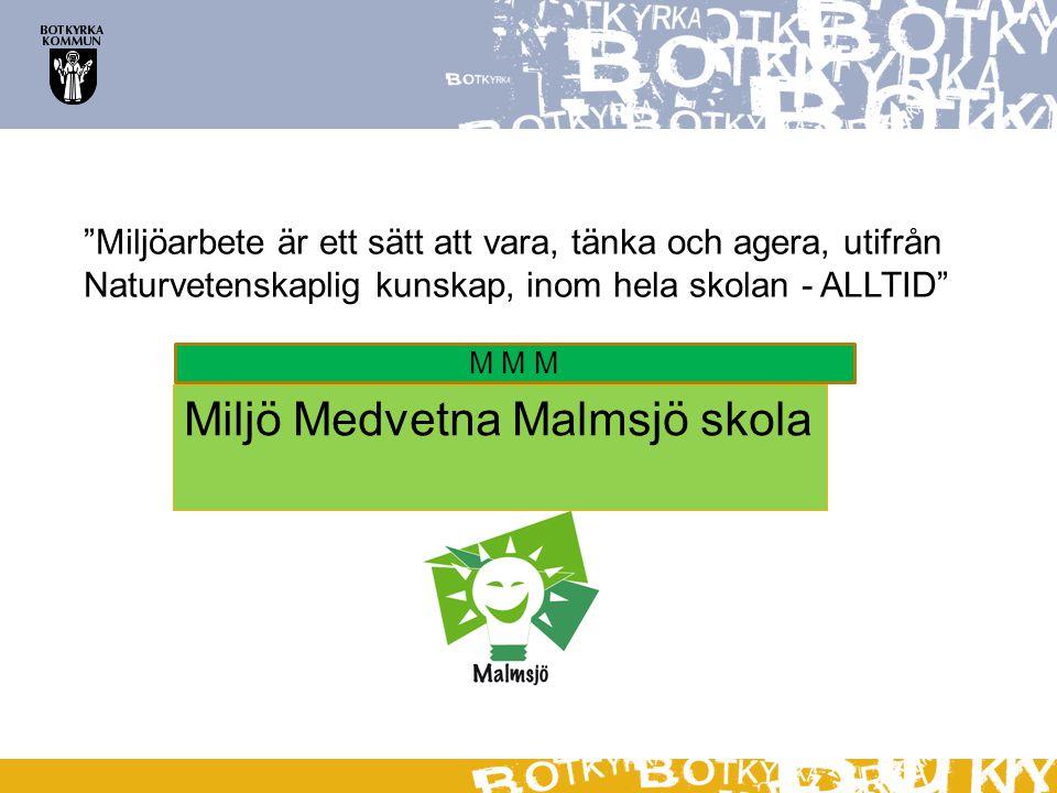 Miljö Medvetna Malmsjö skola