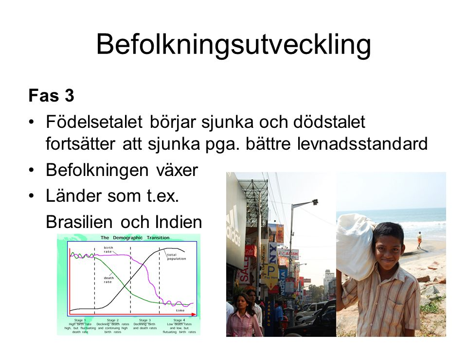 Befolkningsutveckling