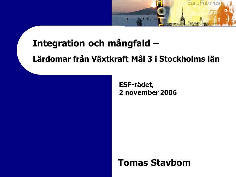 Integration och mångfald –