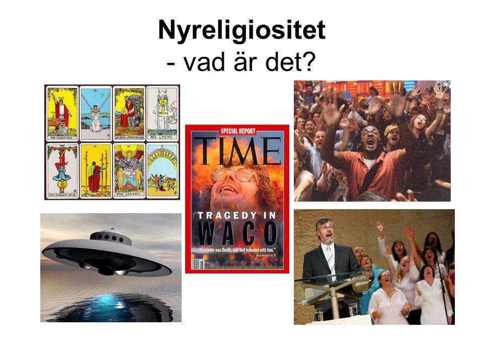 Nyreligiositet - vad är det