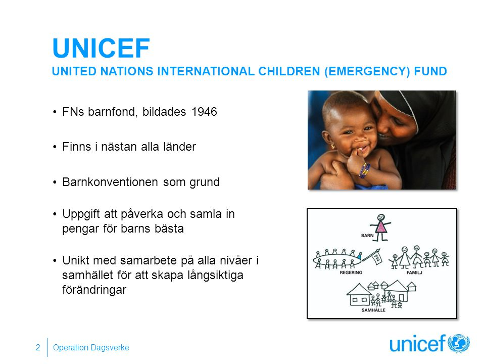 UNICEF United Nations International Children (Emergency) Fund
