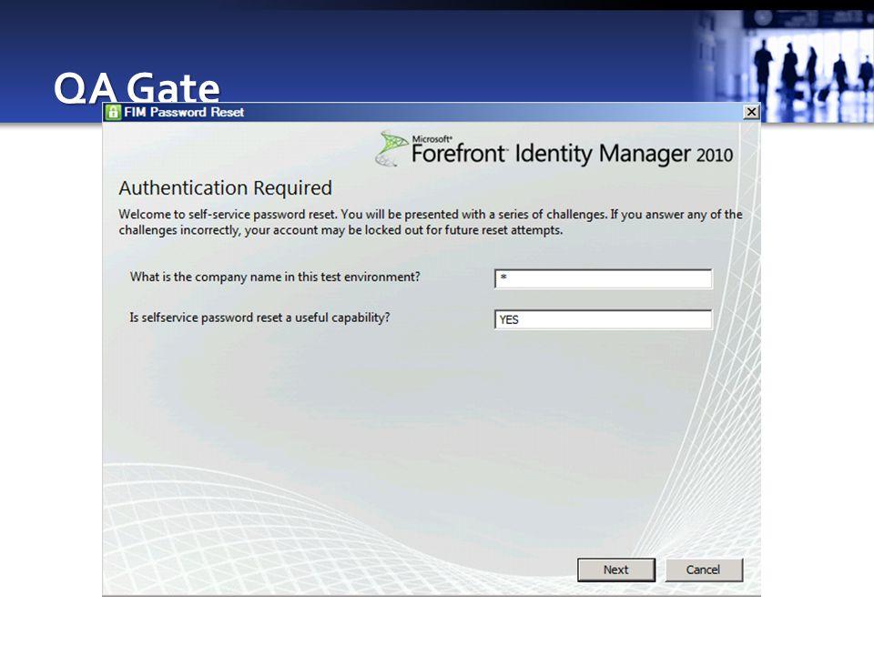 QA Gate