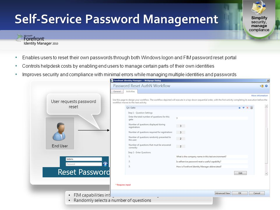 Self-Service Password Management