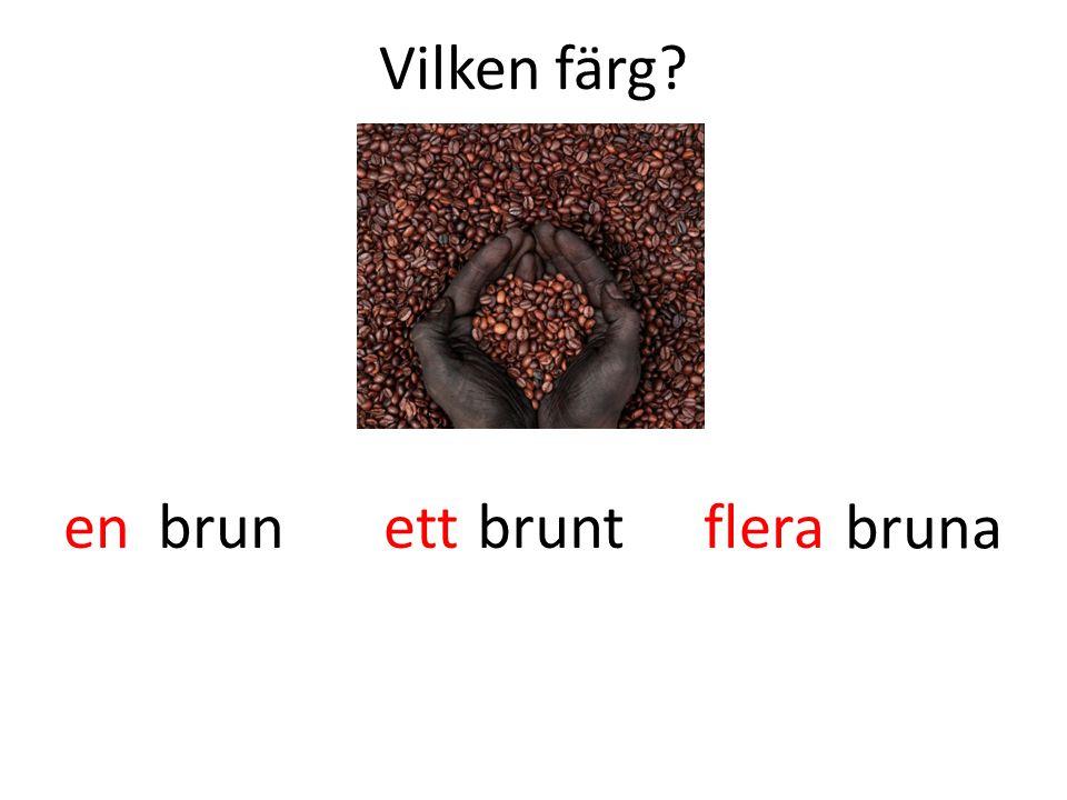 Vilken färg en ett flera brun brunt bruna