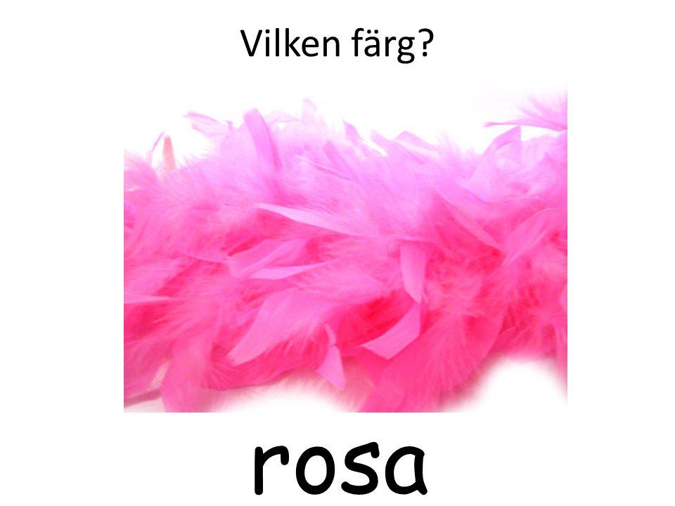 Vilken färg rosa