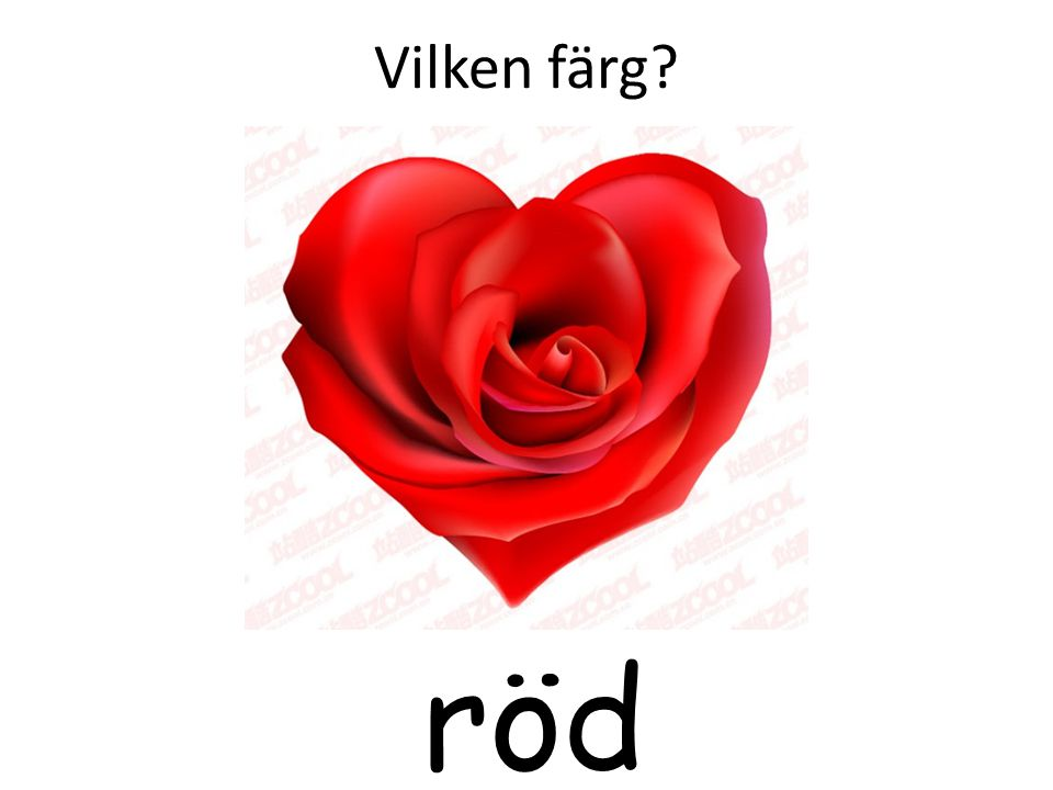 Vilken färg röd