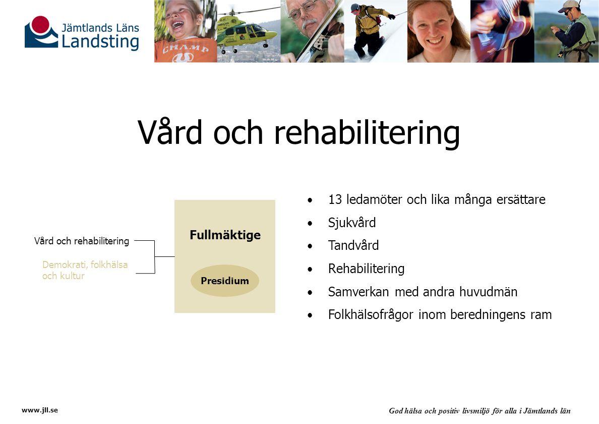 Vård och rehabilitering