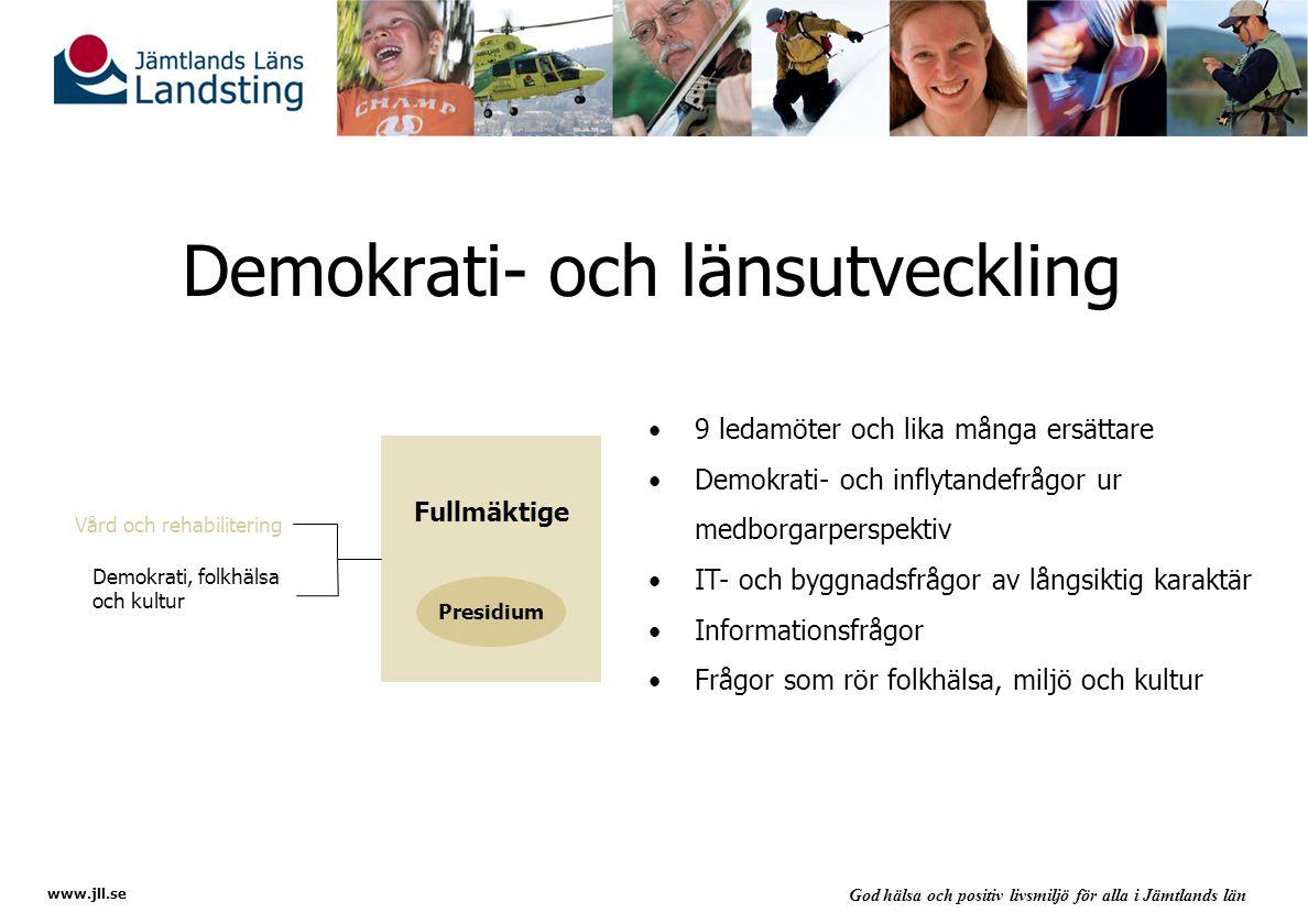 Demokrati- och länsutveckling