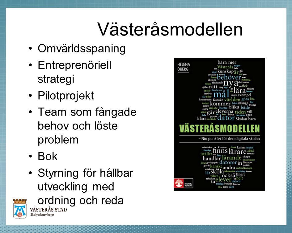Västeråsmodellen Omvärldsspaning Entreprenöriell strategi Pilotprojekt