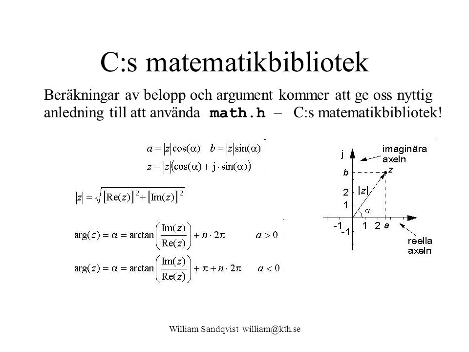 C:s matematikbibliotek