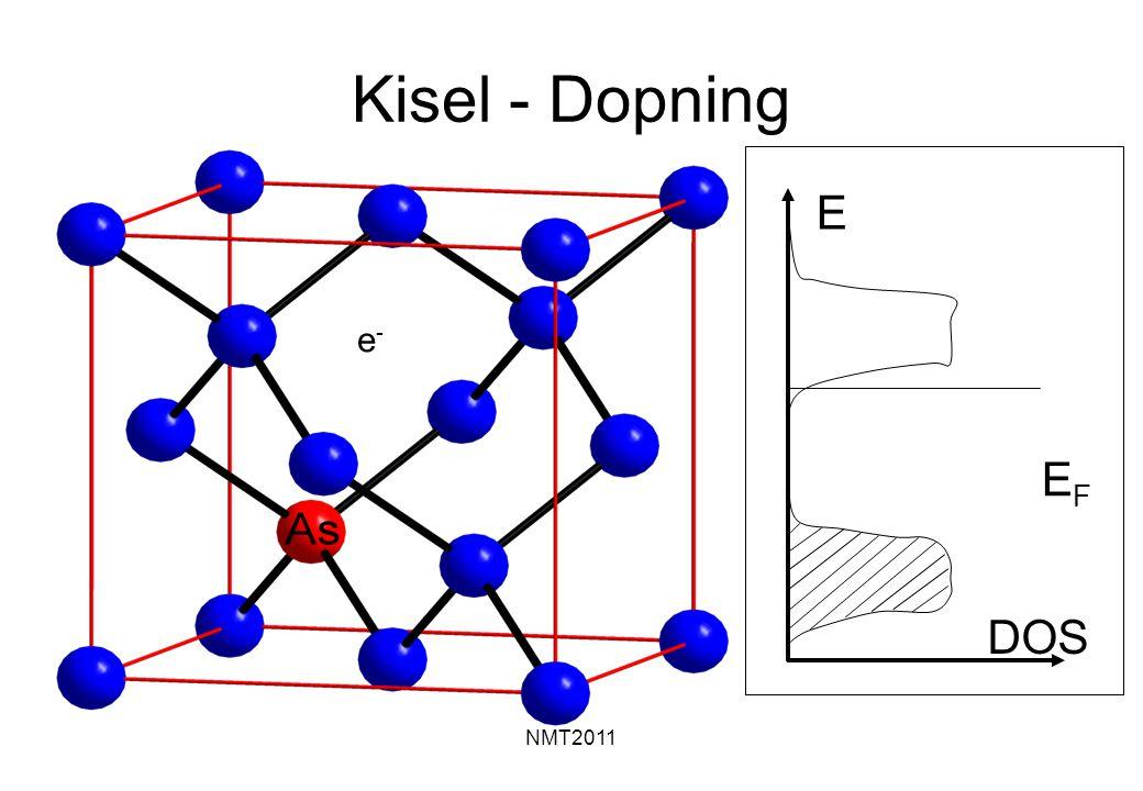 Kisel - Dopning E e- EF DOS NMT2011