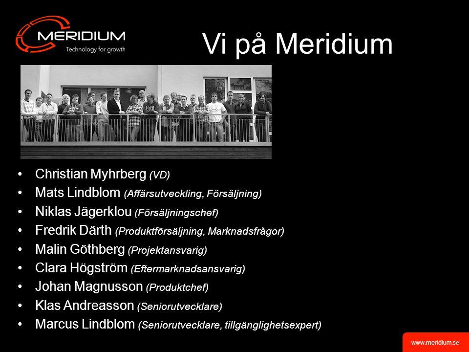 Vi på Meridium Christian Myhrberg (VD)