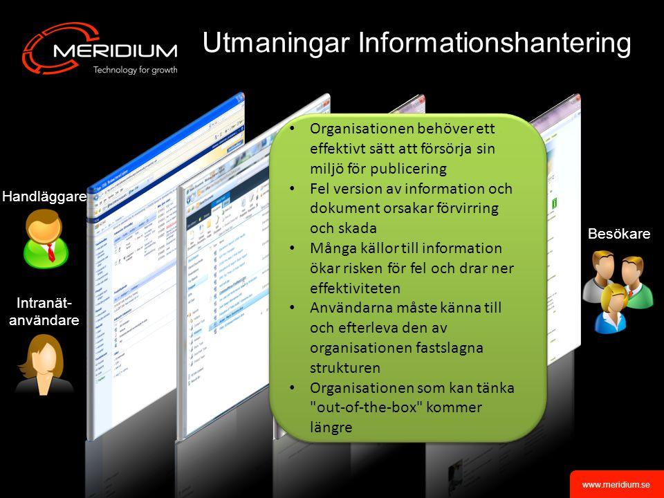 Utmaningar Informationshantering