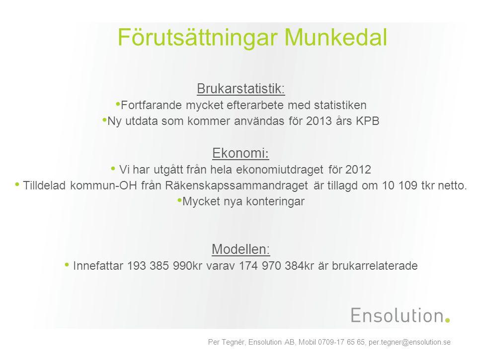 Förutsättningar Munkedal