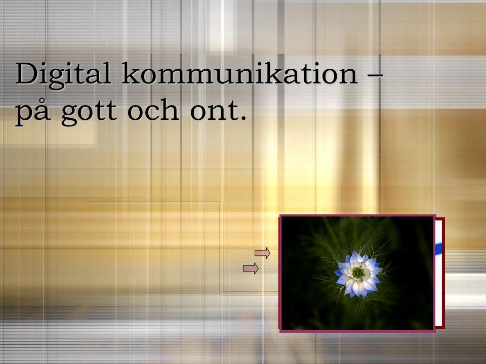 Digital kommunikation –