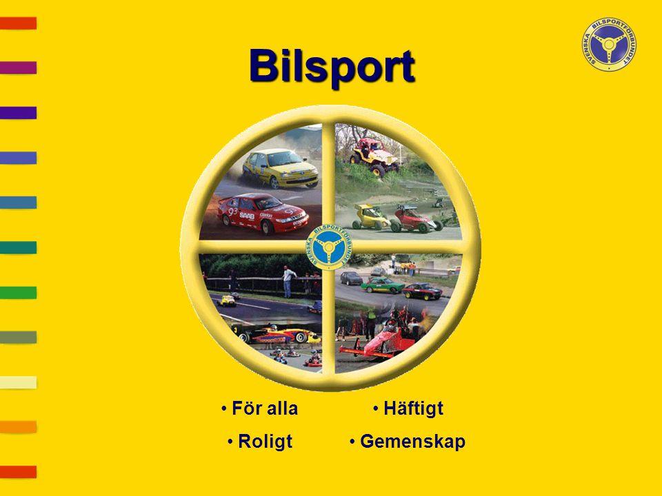 Bilsport För alla Roligt Häftigt Gemenskap